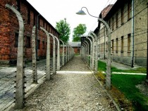 Electric Fences Auschwitz Poland
