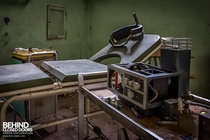 Electroshock Therapy Equipment in an abandoned asylum in Italy link to more pics in comments