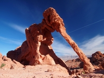 Elephant Rock in the Valley of Fire - Nevada USA