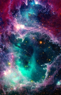 Elephants Trunk Nebula I  Amazing Colors