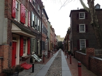 Elfreths Alley Philadelphia Americas Oldest Continuously Inhabited Residential Street