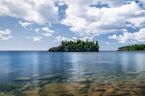 Ellingson Island Lake Superior MN   x