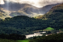 Elterwater UK Lake District Got up here just as the rays starting bursting through the clouds