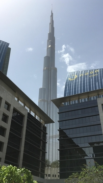 Emar Square in the shadow of the Burj Downtown Dubai