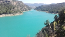 Embalse de Francisco Abelln Southern Spain