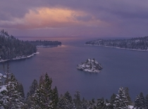 Emerald Bay Lake Tahoe CA  by Sapna Reddy Photography