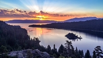 Emerald Bay Sunrise - Lake Tahoe by Jason Wilson