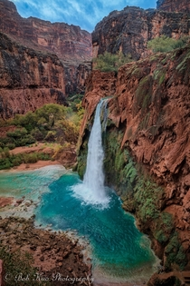 Emerald gem - taken by my father at Havasu Falls Arizona
