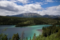 Emerald Lake in the Yukon Territory
