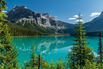 Emerald Lake in Yoho National Park British Columbia