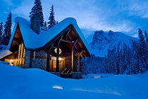 Emerald Lake Lodge in British Columbia Canada