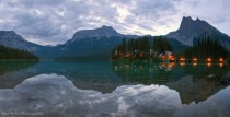 Emerald Lake Lodge in Canadas Yoho National Park