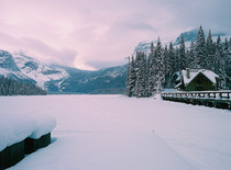 Emerald Lake Lodge in Yoho National Park BC