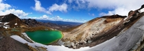 Emerald Lakes Tongariro Crossing New Zealand