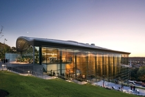 EMPAC Troy NY - one of the most acoustically perfect concert halls in the world - Grimshaw Architects
