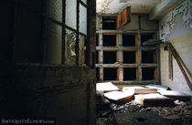 Empty Morgue at the Old Pilgrim State Hospital