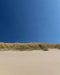 Empty unperturbed beach in Oostkapelle The Netherlands Spending my lockdown half a km from here
