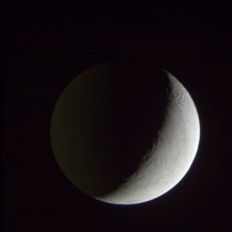Enceladus in Saturnshine quick and dirty