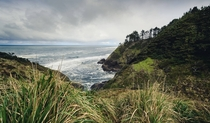 End of the Lewis and Clark journey Cape Disappointment Washington