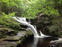 Enders Falls Ct a great place to swim one of  waterfalls