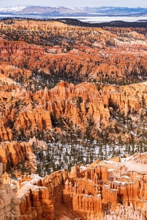Endless layers in Bryce Canyon