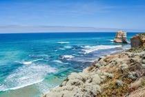 Endless stretches of coast along the Great Ocean Road Australia xOC