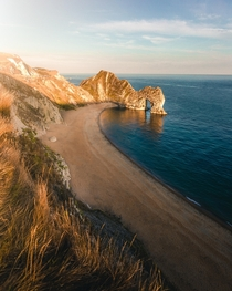 England doesnt get a lot of attention here but I was really impressed by how beautiful Durdle Door is Durdle Door Dorset England