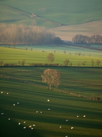 Englands green and pleasant lands Eden Valley Cumbria