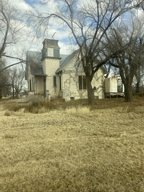 Englewood KS This church was built in  and has sat abandoned since  and was nearly destroyed by wildfires in late