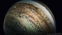 Enhanced The Dolphin Cloud on Jupiter