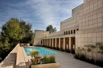 Ennis House by Frank Lloyd Wright   Glendower Ave Los Angeles CA  Architectural styles Mayan Revival amp Textile Block