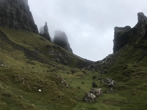 Enter at your own peril Quiraing in the Isle of Skye looks like the entry to a magic realm