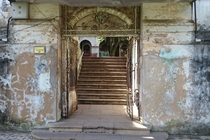 Entering an abandoned psychiatric hospital Porto Alegre Brazil