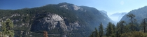 Entrance to Yosemite National Park California -