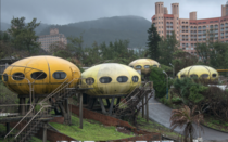 Epic forgotten UFO buildings in Taiwan