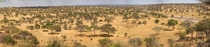 Epic Mega Panorama of Tarangire River Tanzania