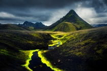 Epic mountains in the Icelandic Highlands  felixsunphoto