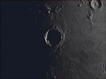 Eratosthenes Crater tonight