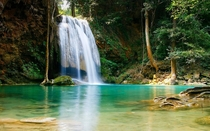 Erawan National Park Waterfall Thailand