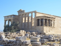 Erechtheion of the Acropolis Athens Greece