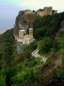 Erice Italy An ancient castle village high on the hilltops and one of my favorite places in Sicily