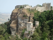 Erice mountaintop village in northwestern Sicily