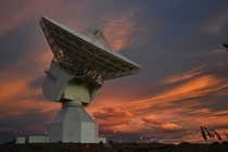 ESAs  m-diameter deep-space tracking station at New Norcia Australia