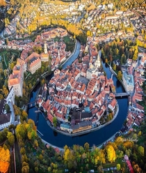 esk Krumlov Czech Republic