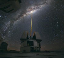 ESOs Paranal Observatory-observing the center of the Milky Way