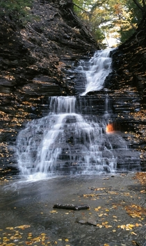 Eternal Flame Falls in Orchard Park NY