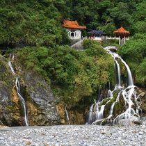 Eternal Spring Shrine - Taroko Gorge - Hualien City Taiwan