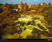 Ethiopias Dallol Volcano a volcano in the hottest place on Earth