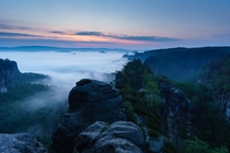 Euphoria leads your steps Saxon Switzerland by Philipp Zieger