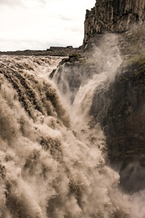Europes most powerful waterfall Dettifoss in northern Iceland  - more of my landscapes at insta glacionaut